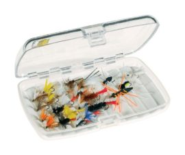 Plano Clear Fishing Case for large and small flies