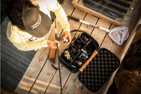 Reel Locker from the Guide Series™ for fishing